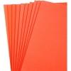 Foam Sheet (Eva) 9'' x 12'' Orange - Pack of 10 pieces